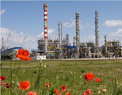 Petrochemická činnosť skupiny MOL